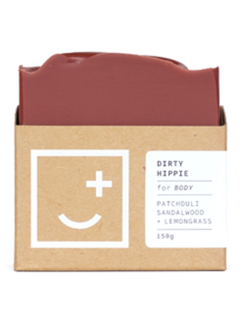 Fair and Square Soapery Dirty Hippie Soap, 150g image 0