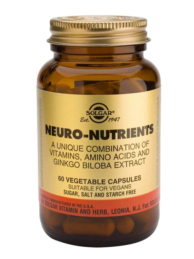 Solgar Neuro-Nutrients (60 Capsules) image 0