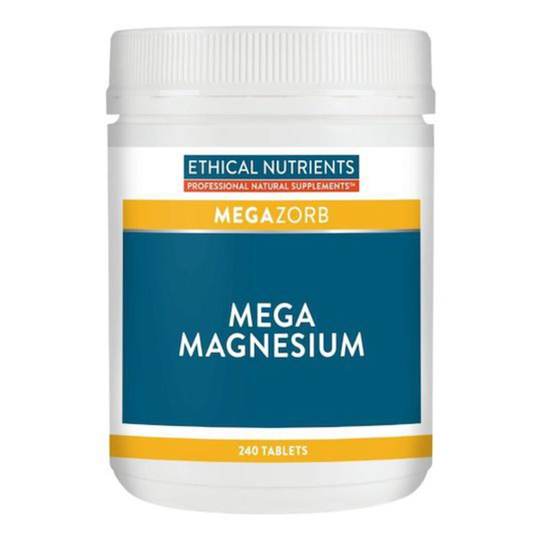 Ethical Nutrients Mega Magnesium, 60, 120 or 240 Tablets image 1