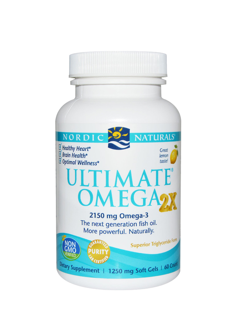 Nordic Naturals Ultimate Omega 2X , 60 Soft Gels image 0