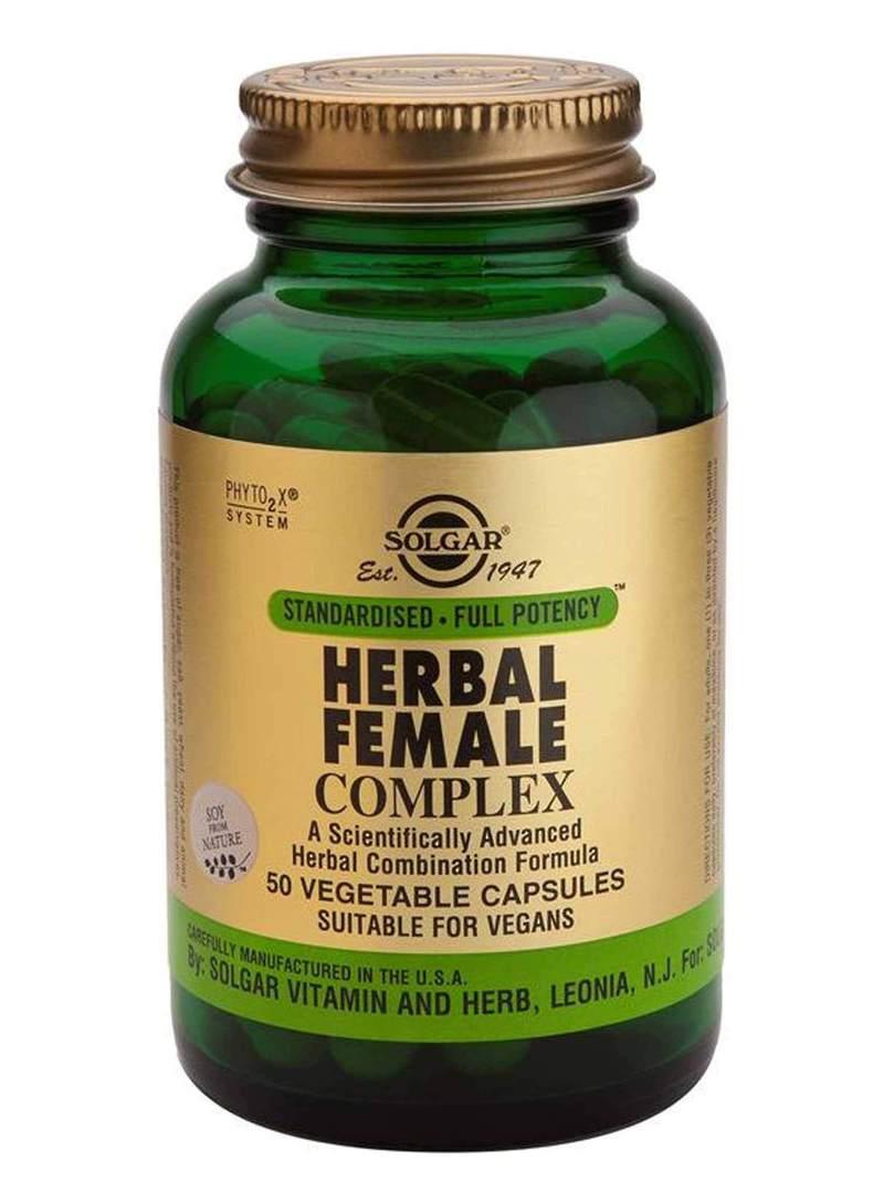 Solgar Herbal Female Complex (50 Vegetable Capsules) image 0
