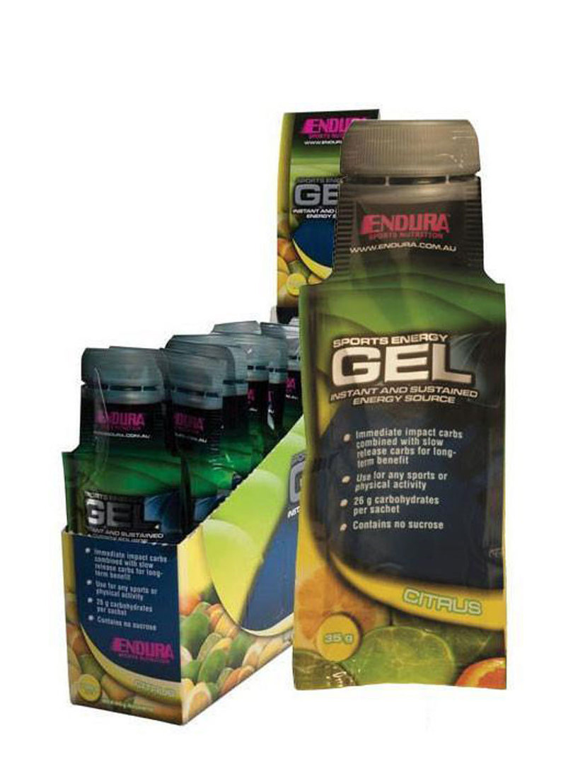 Endura Sports Energy Gel, 20 x Sachets (35g) image 0