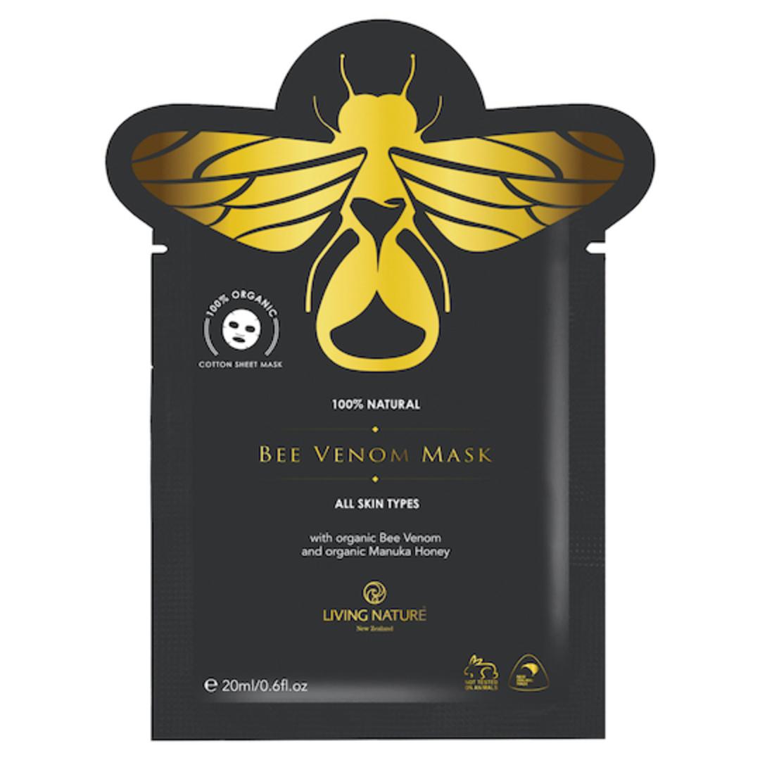 Living Nature Bee Venom Mask, 20ml image 0