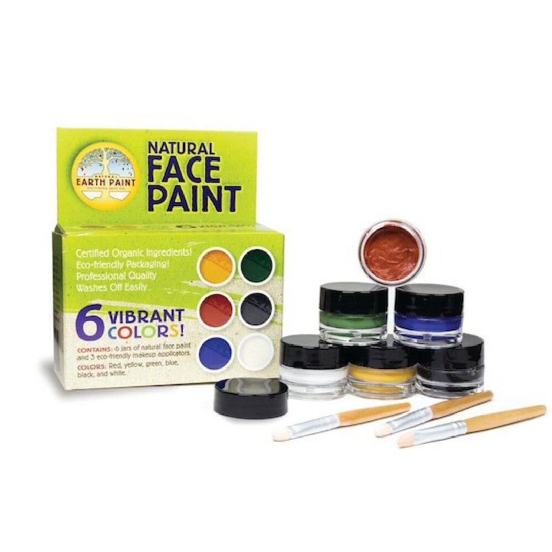 Natural Earth Paint - Natural Face Paint Kit image 0