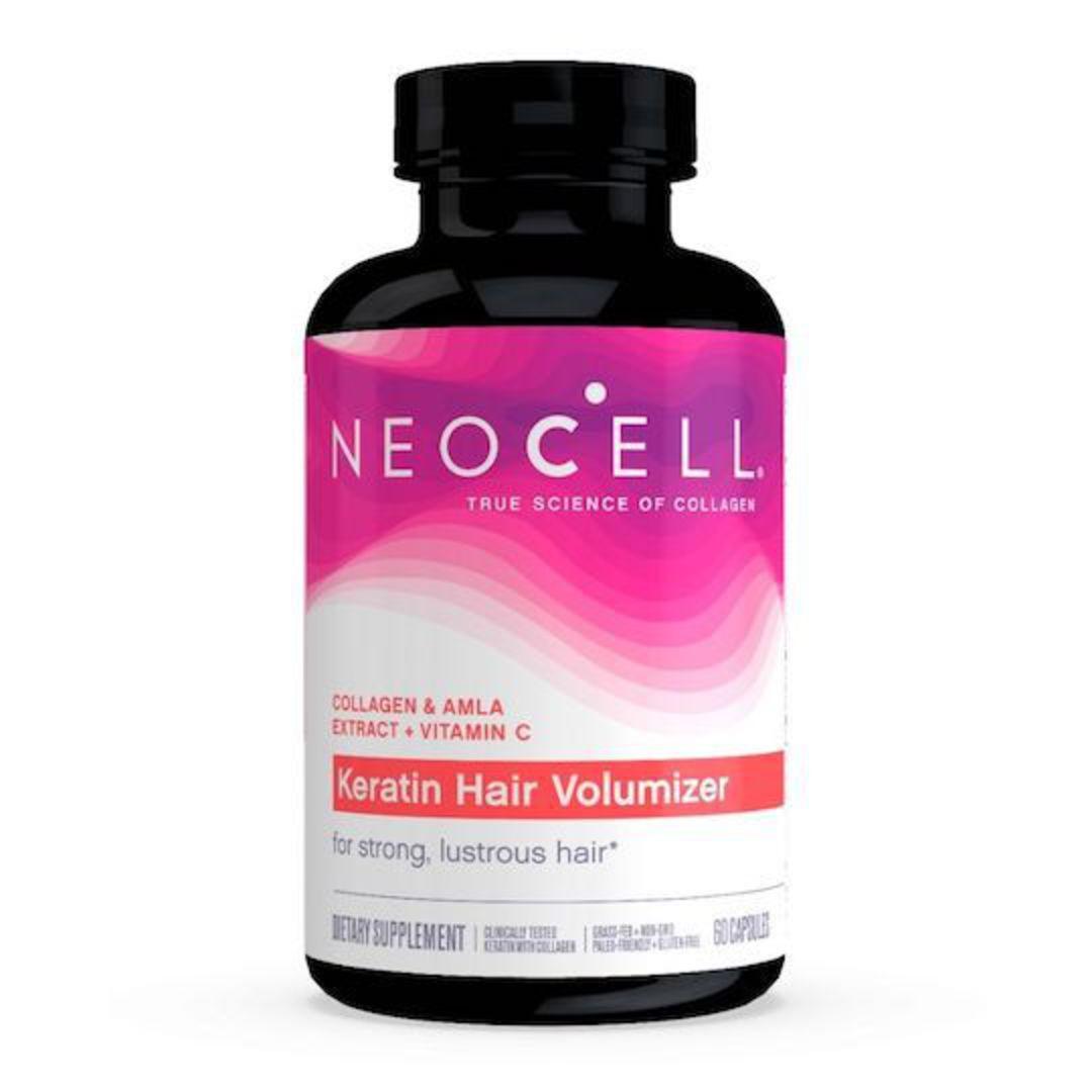 NeoCell Keratin Hair Volumizer, 60 Capsules image 0