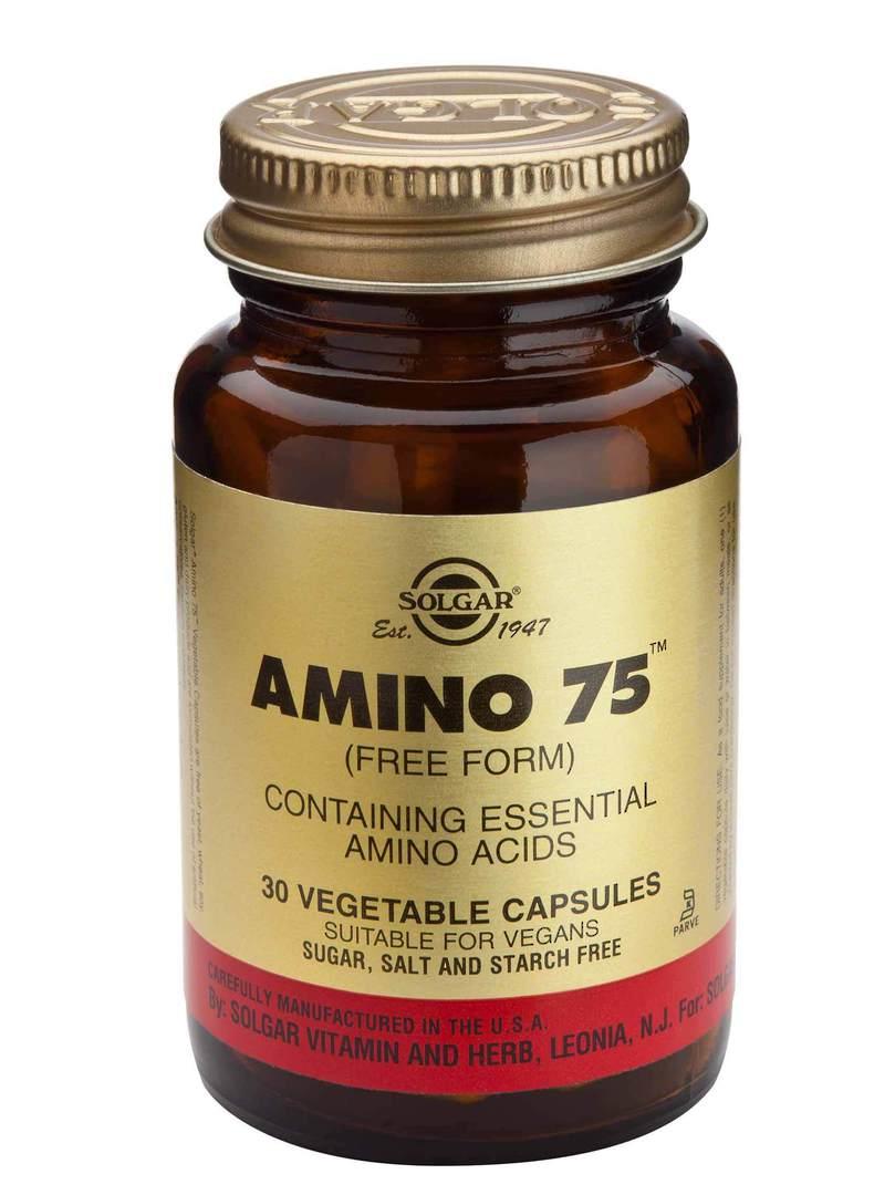 Solgar Amino 75 (30 Vegetable Capsules) image 0