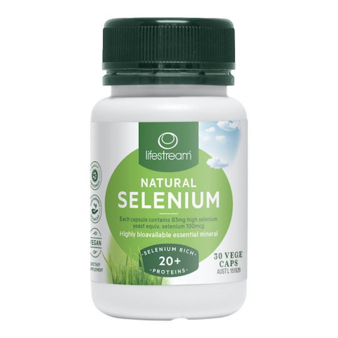 Lifestream Natural Selenium, 30 Capsules image 0