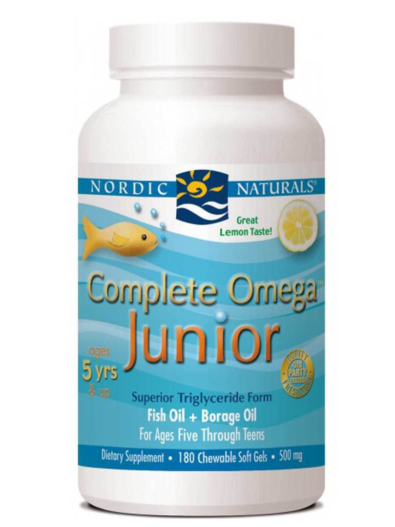 Nordic Naturals Complete Omega Junior (90 lemon softgels for ages 5+) image 0