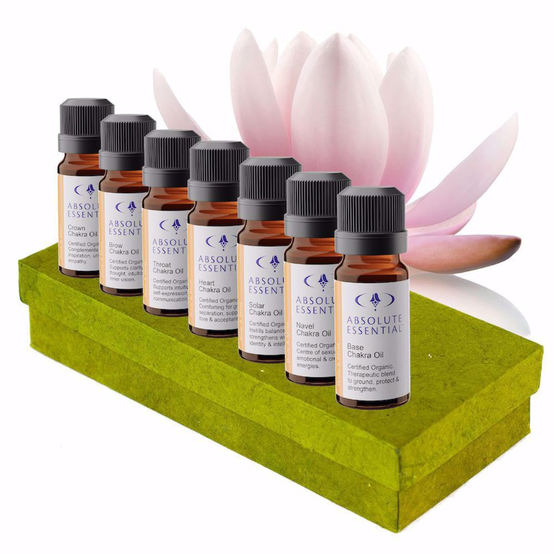 Absolute Essential Chakra Oil Set of 7 (Organic) image 1