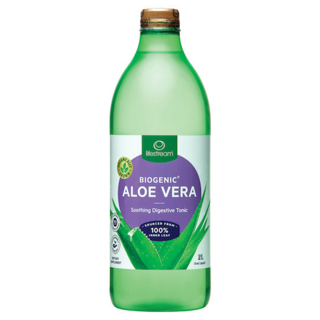 Lifestream Biogenic Aloe Vera Tonic, 500ml, 1.25L, or 2L image 0