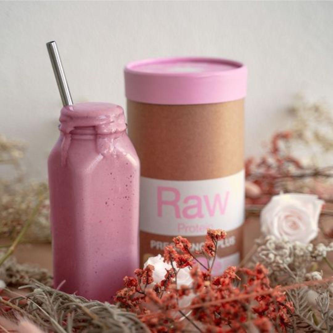 Amazonia Raw Protein Pregnancy Plus, 500g (Vanilla or Chocolate) image 1