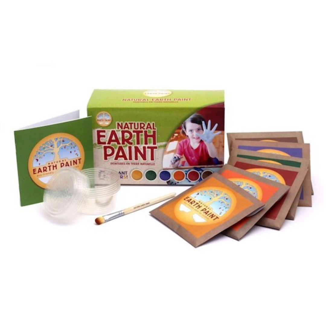 Natural Earth Paint - Children's Earth Paint Kit image 0