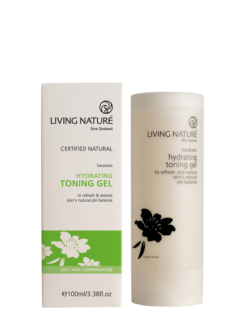 Living Nature Hydrating Toning Gel (oily/combination), 100ml image 0