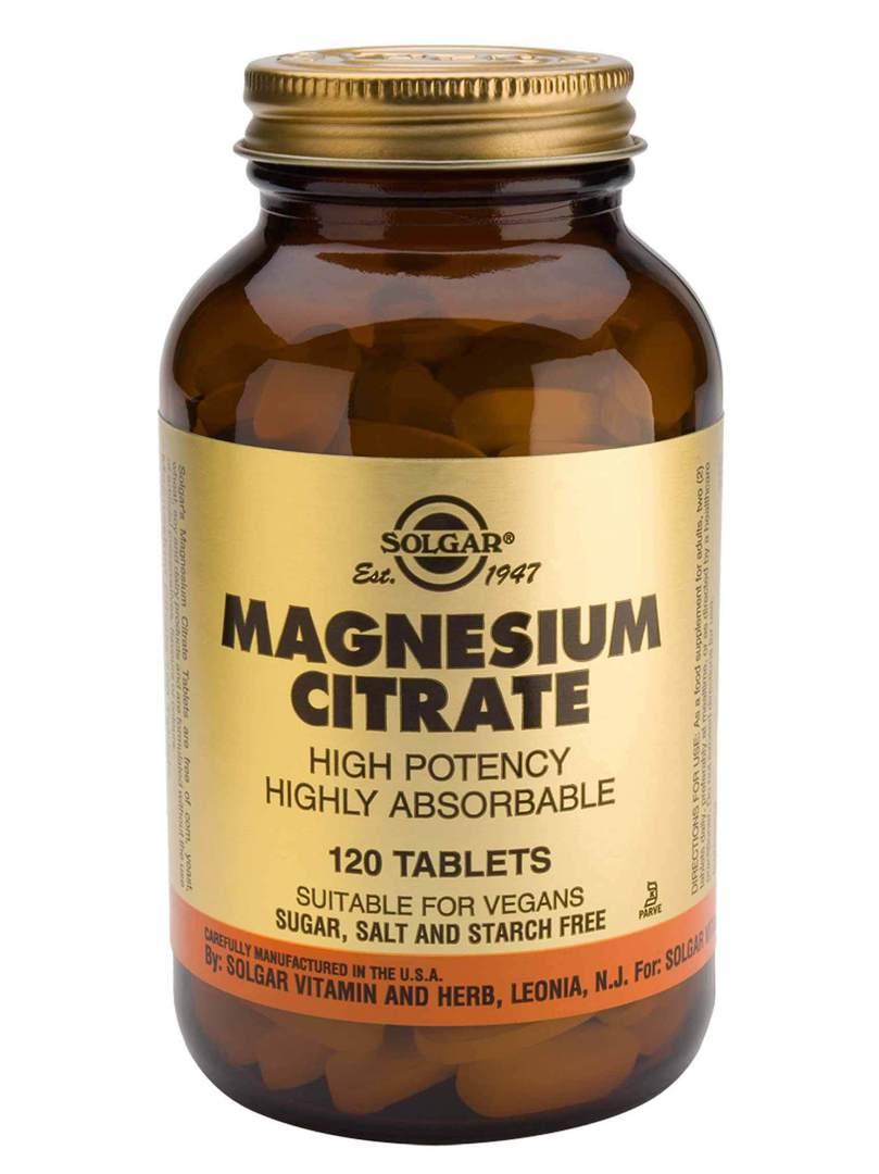 Solgar Magnesium Citrate , (120 tabs) image 0