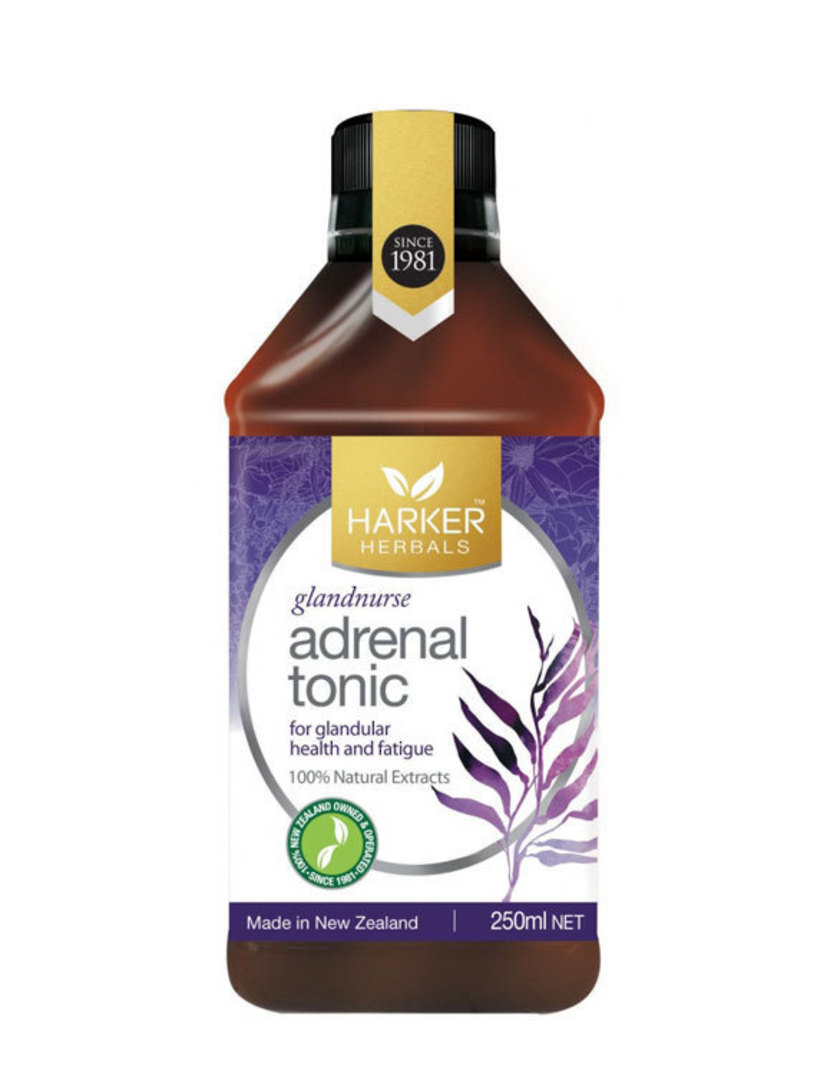 Harker Herbals Adrenal Tonic (Glandnurse), 250ml and 500ml image 0