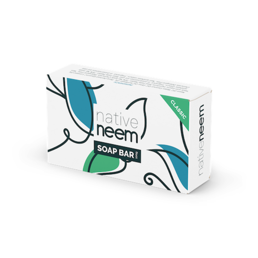 Native Neem Organic Neem Soap Bar (Classic Original), 100g image 0