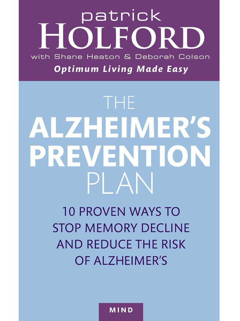 Alzheimers Prevention Plan by Patrick Holford image 0