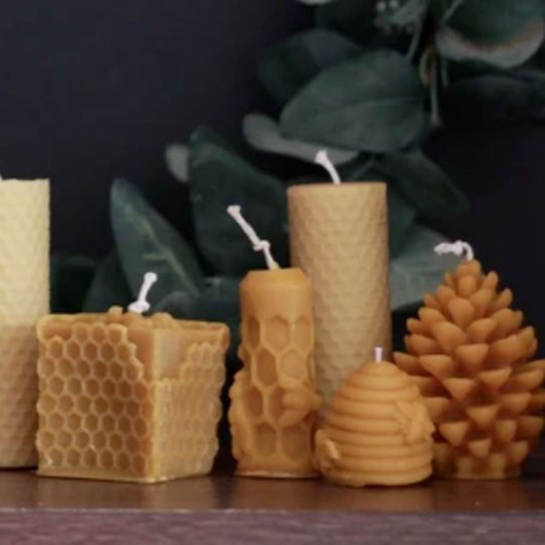 Hexton Bee Company Beehive Candle (3 Pack) image 2