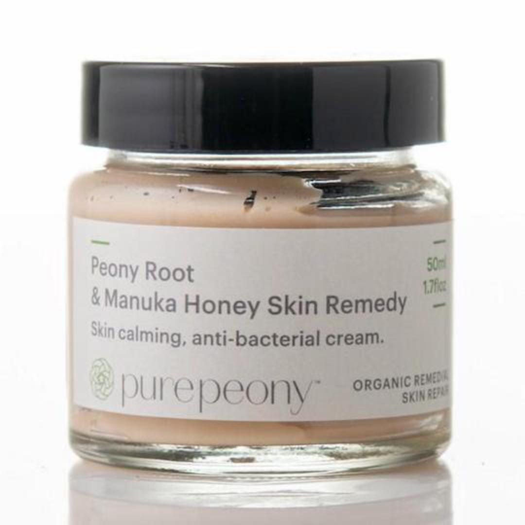 Pure Peony Root & Manuka Honey Skin Remedy, 50ml jar image 0