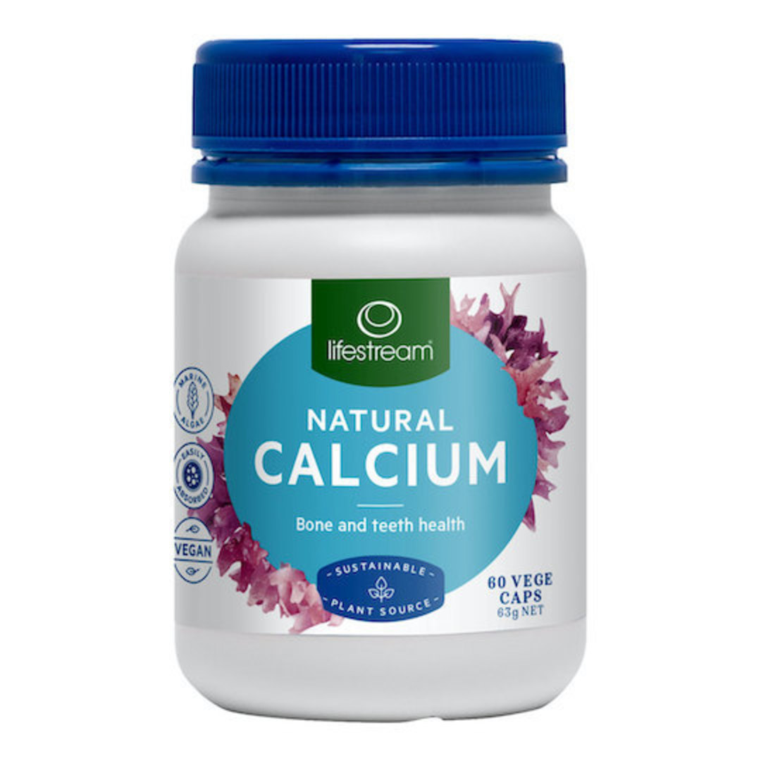Lifestream Natural Calcium, 120 Capsules (exp. end Jan 21) image 0