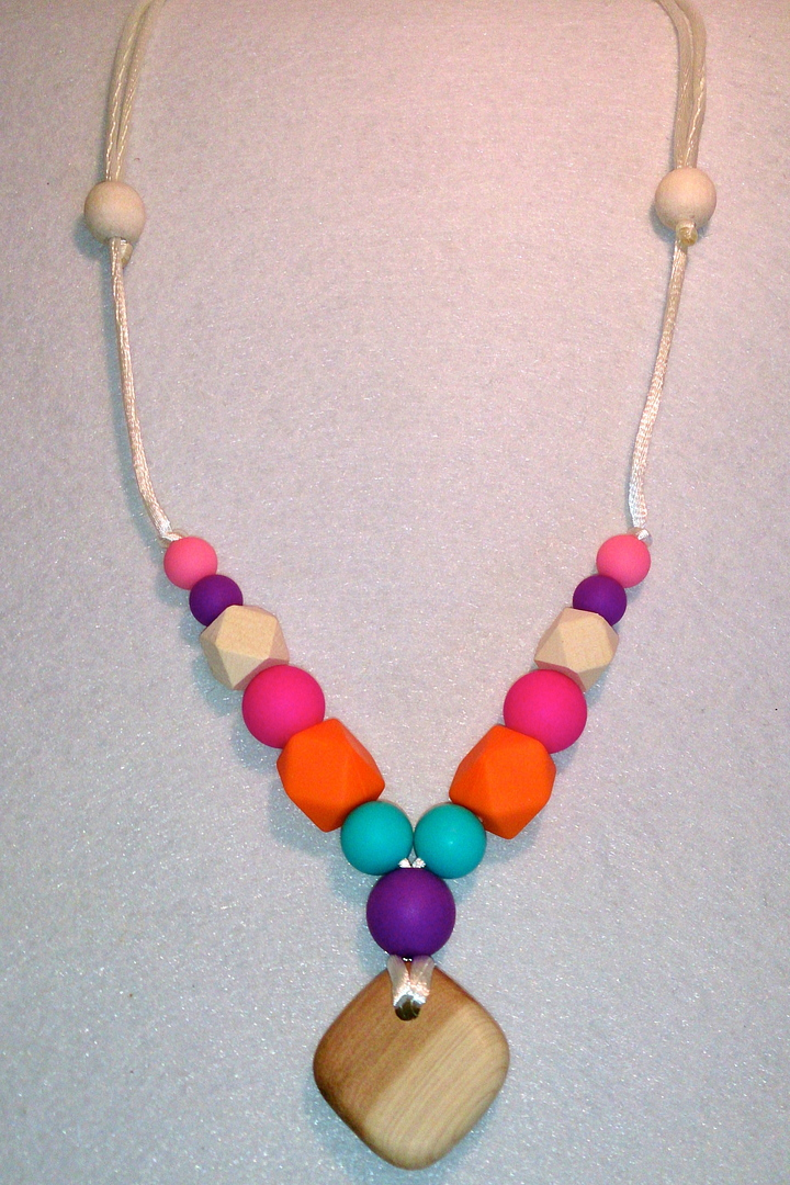 Daisy Chains And More - Jelly Bean Necklace image 0