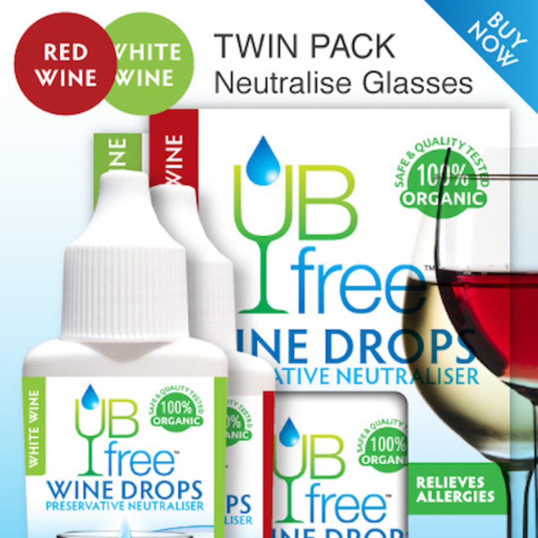 UB Free Red/White Wine Sulphite Neutraliser (Twin Pack), 8ml x 2 image 0