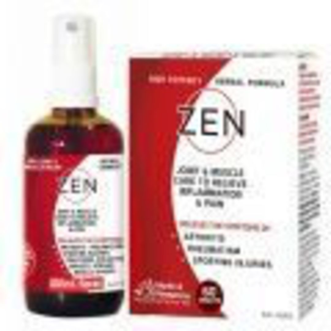 Zen Therapeutic Herbal Tincture Liniment Spray (100ml) image 0