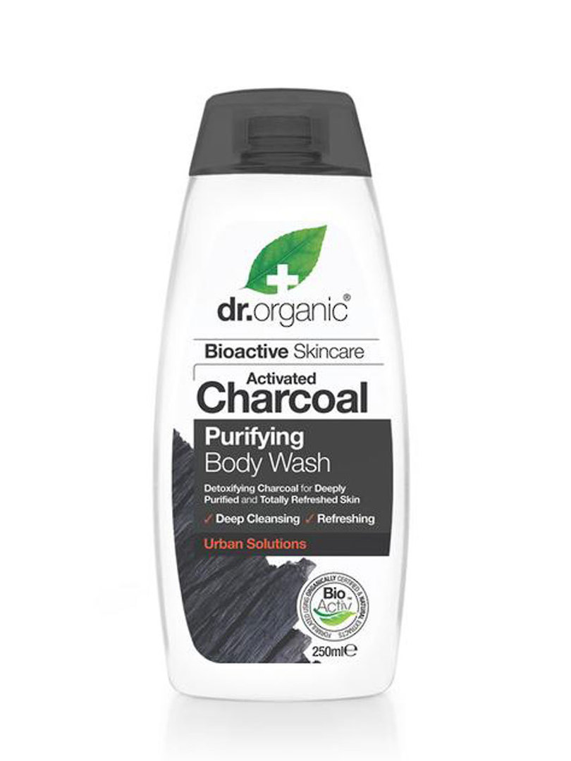 Dr. Organic Charcoal Purifying Body Wash, 250ml image 0