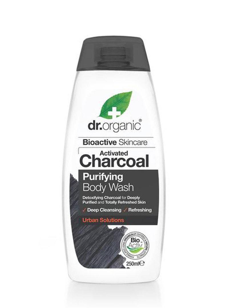 Dr. Organic Charcoal Purifying Body Wash, 250ml image 0
