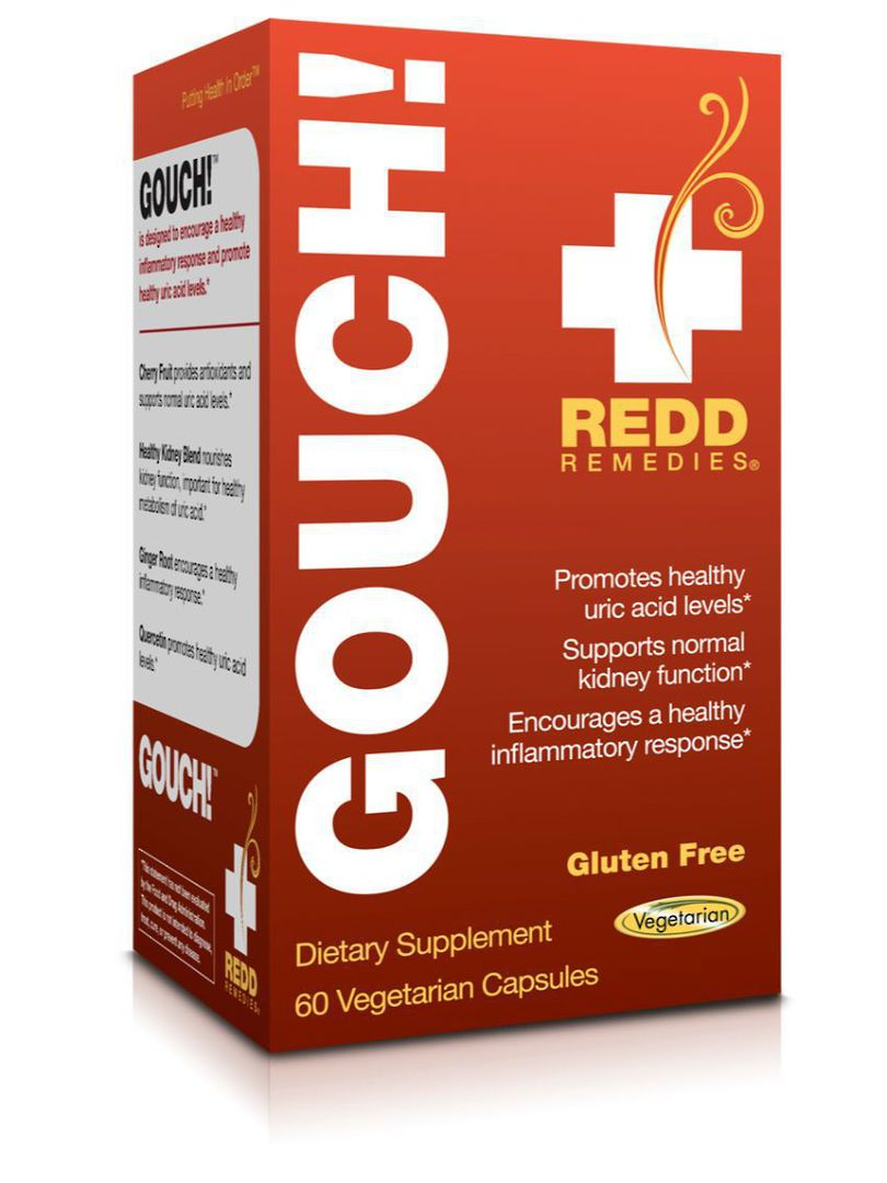 Redd Remedies Gouch!, 60tabs image 0