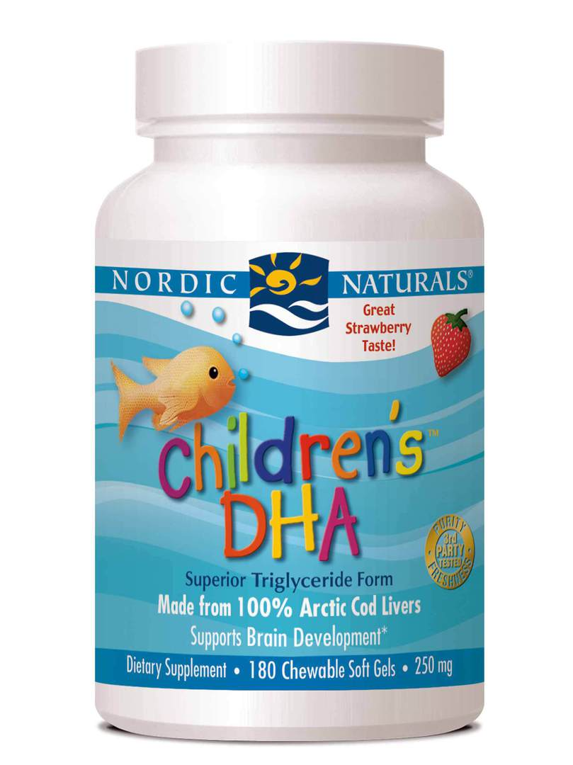 Nordic Naturals Children's DHA (strawberry flavoured softgels) image 0