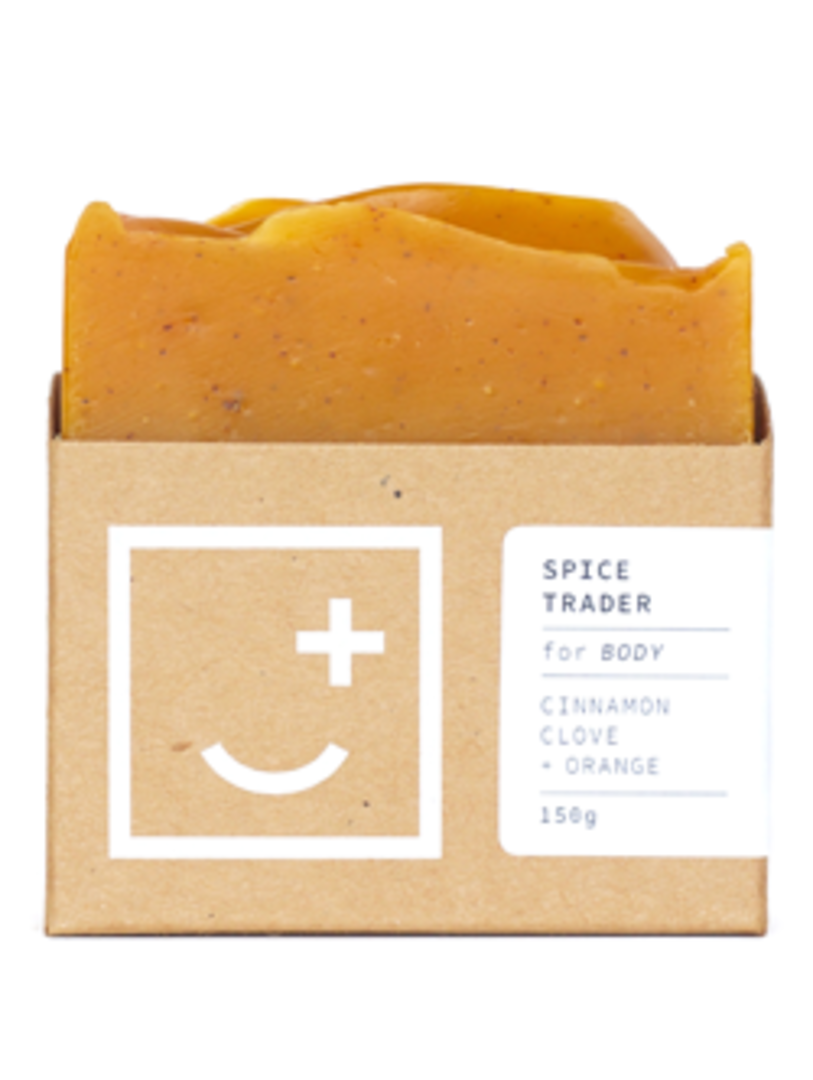 Fair and Square Soapery Spice Trader Soap, 150g image 0