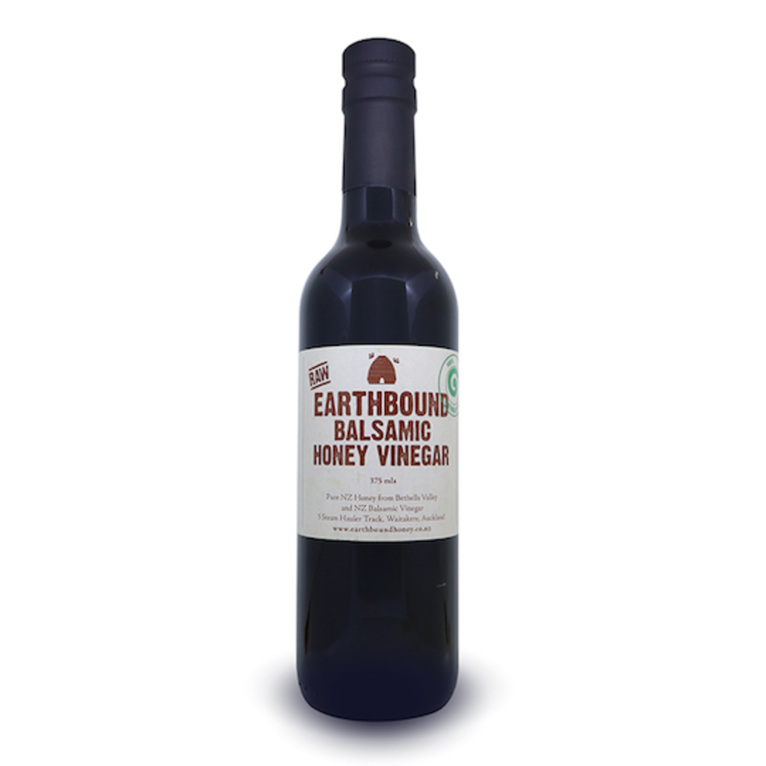 Earthbound Raw Balsamic Honey Vinegar, 375ml image 0