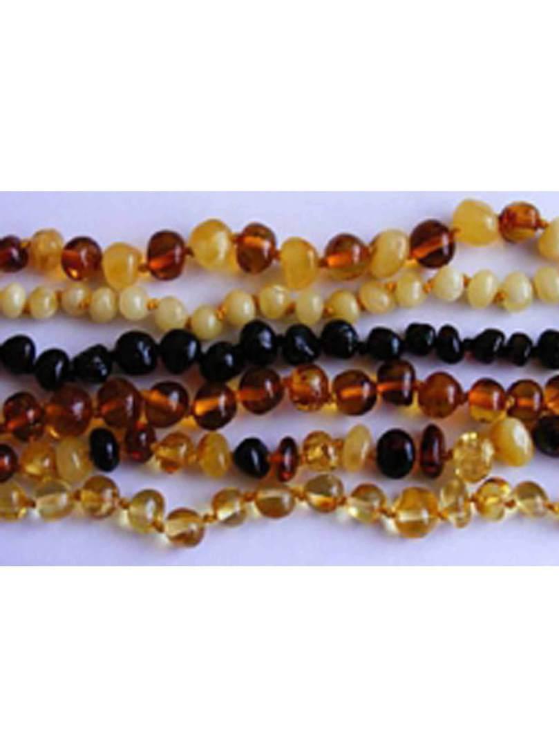 Baa Baa Beads Amber Teething Necklace, Honey Coloured. image 1