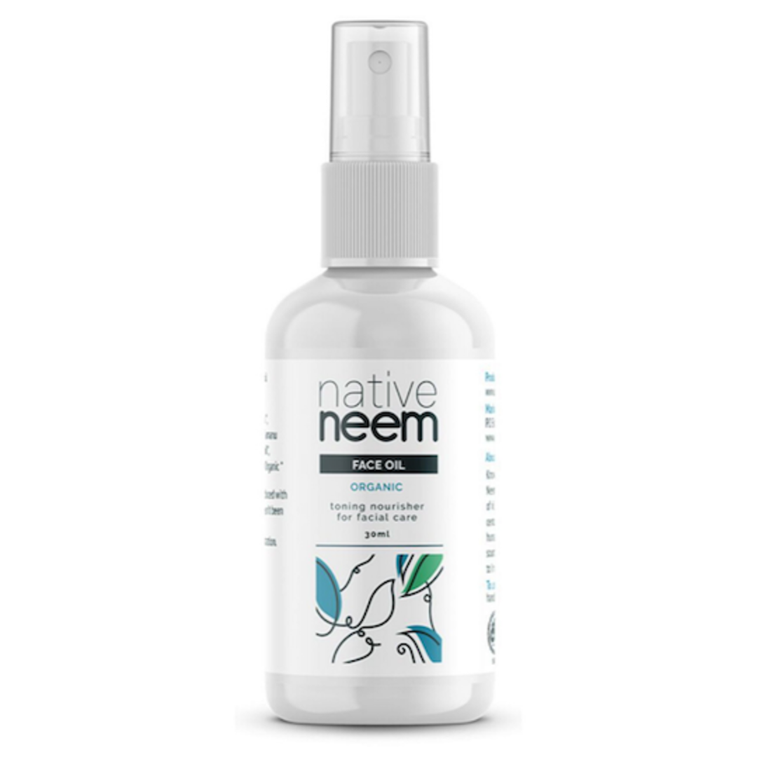Native Neem Organic Face Oil, 30ml image 0