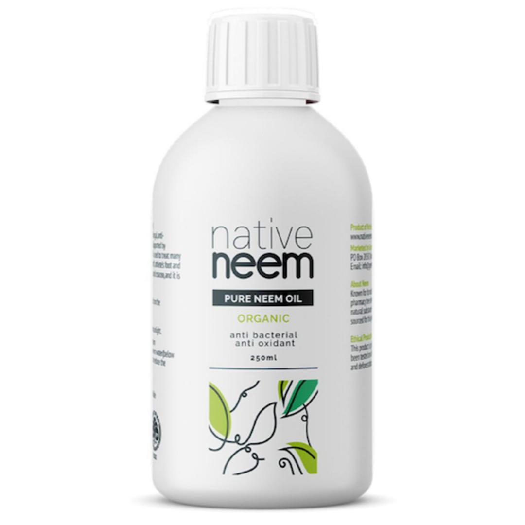 Native Neem Organic Pure Neem Oil, 250ml image 0