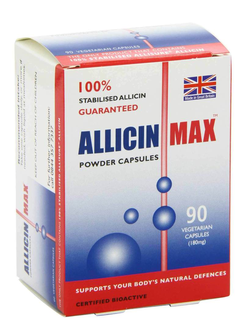 Allicin Intl, AllicinMax, 90 Capsules OUT OF STOCK (MORE EXPECTED SOON) image 0