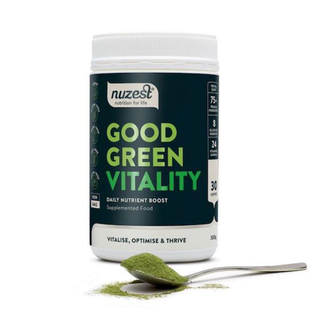 NuZest Good Green Vitality, 120g or 300g image 0