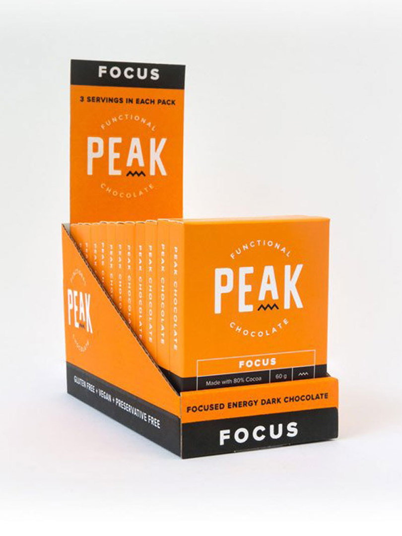Peak Chocolate Focus, 12 pack image 0