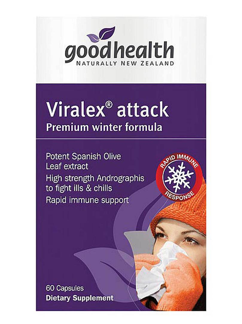 Good Health Viralex Attack, 60 caps (OUT OF STOCK) image 0