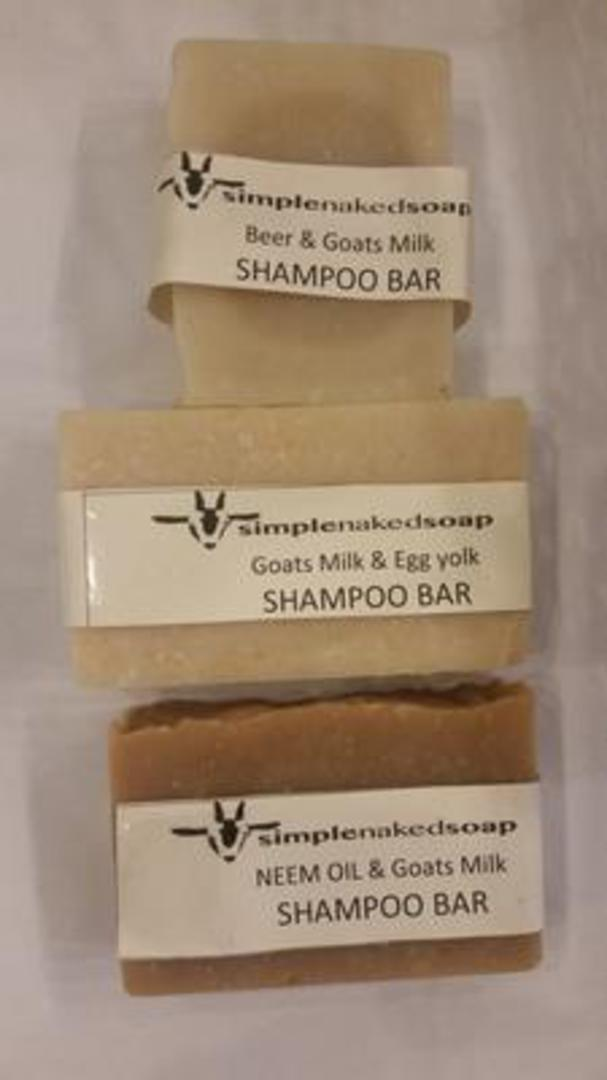 SNS Shampoo Bars, 100g oblong bar (with bag or without) image 0