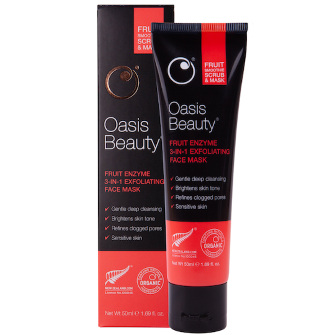 Oasis Beauty Fruit Smoothie Enzyme Mask & Scrub image 1