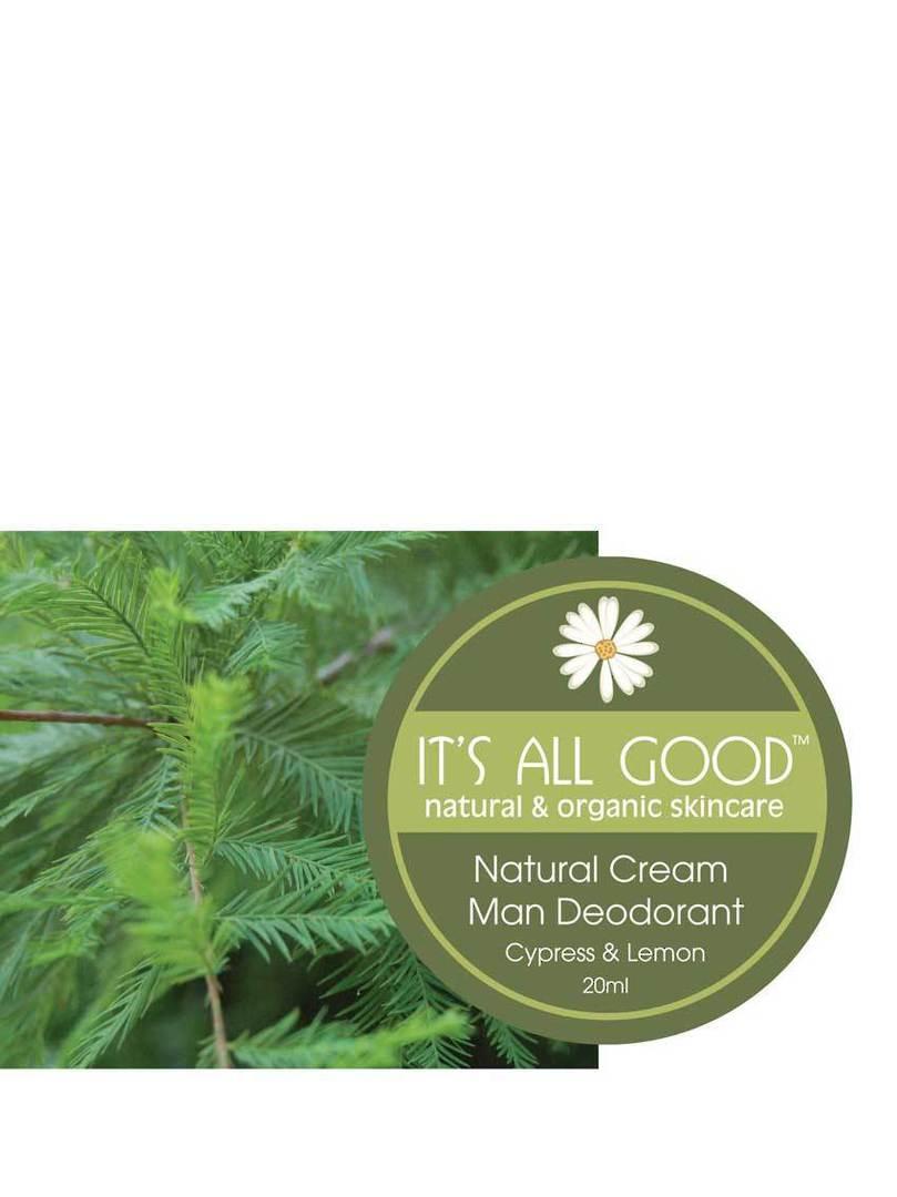 It's All Good Natural Deodorant, Cyprus & Lemon, 30gm (best before Oct 21) image 1