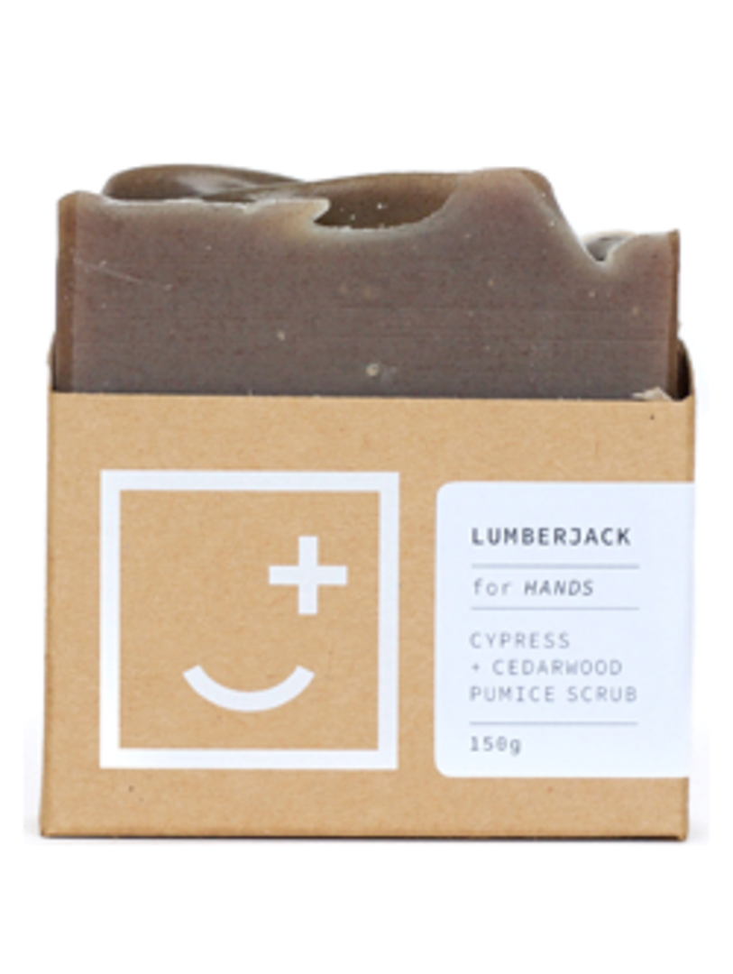 Fair and Square Soapery Lumberjack Soap, 150g image 0