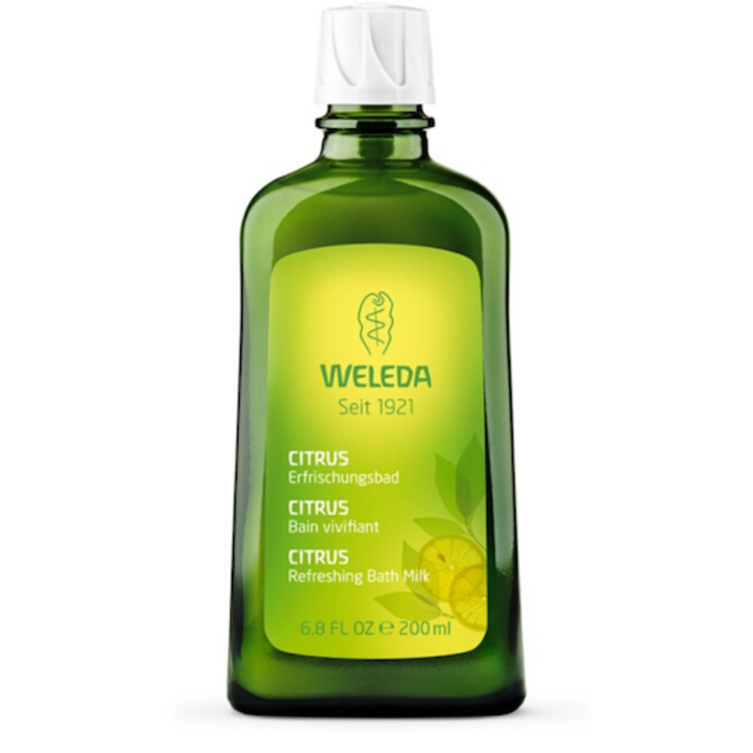 Weleda Citrus Refreshing Bath Milk, 200ml (best before end 06/21) image 0