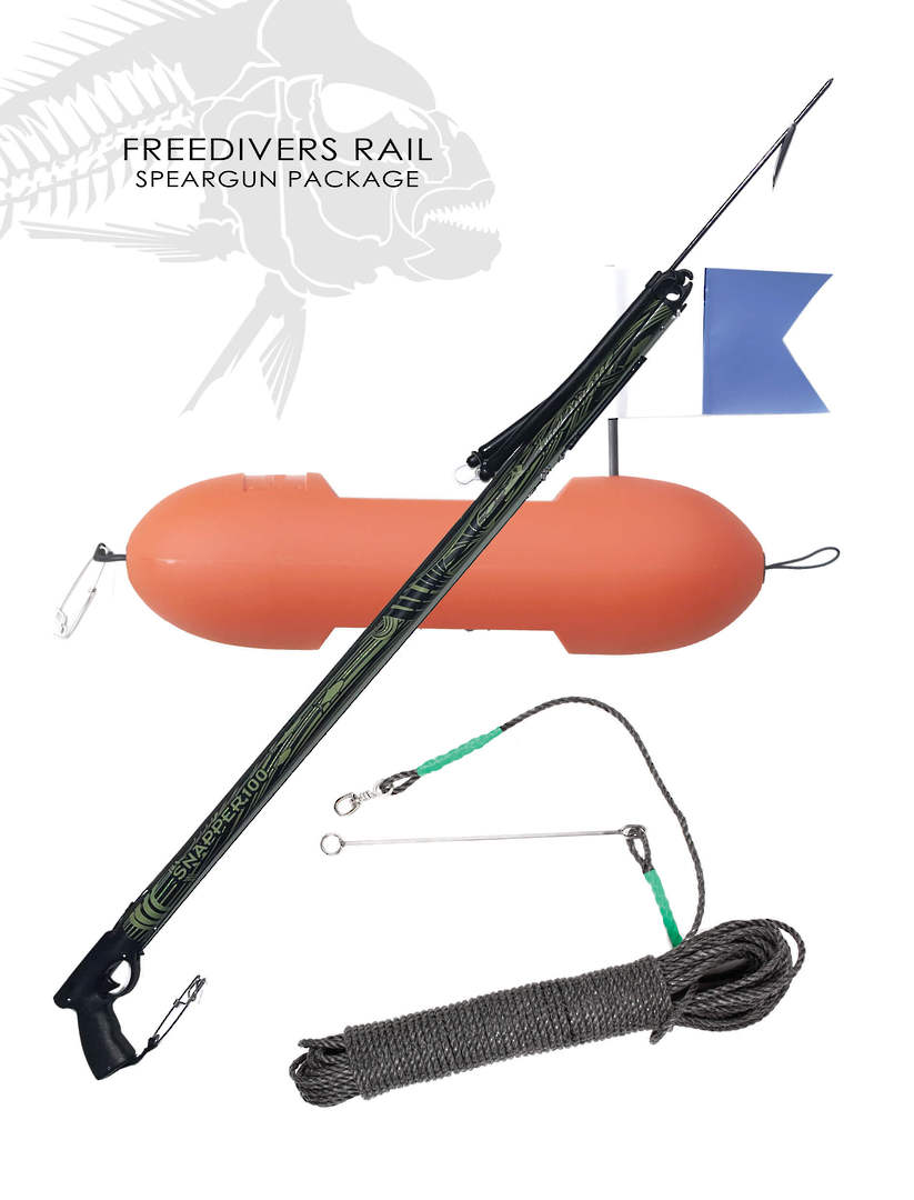 Freedivers Rail Speargun Package image 0