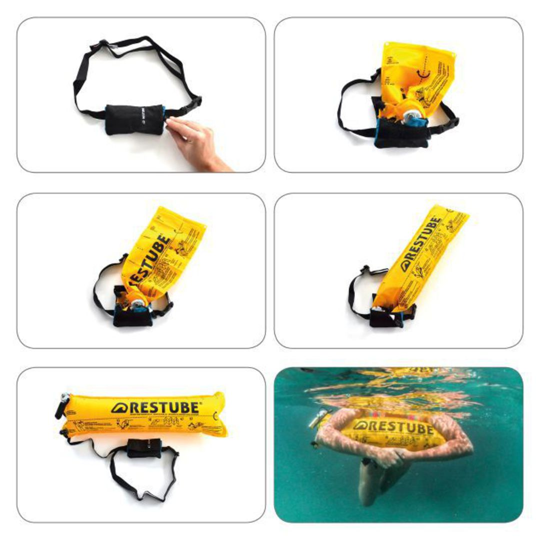 Restube Classic inflatable buoy image 2