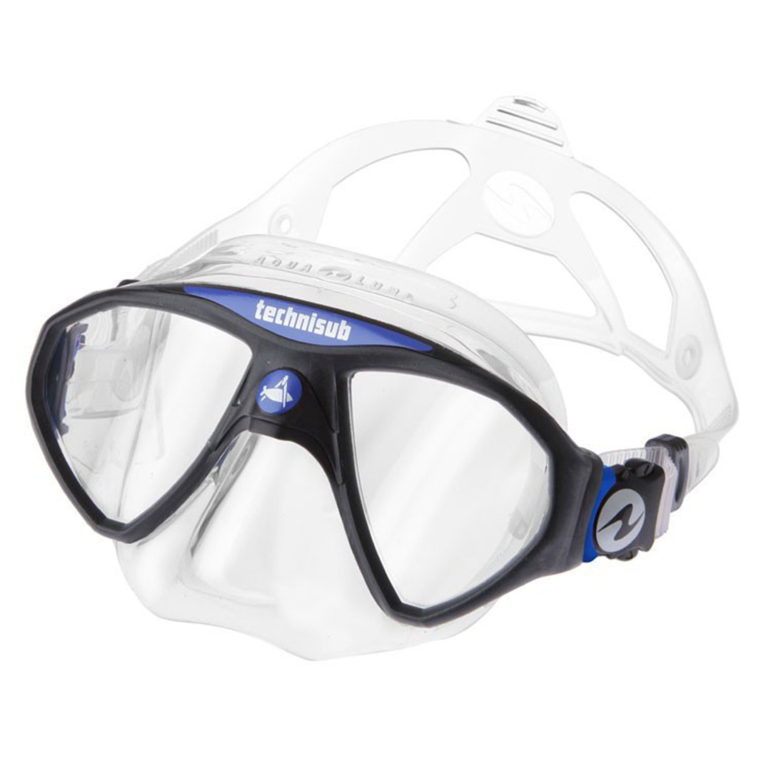 Aqualung Micro Mask Blue / Clear image 0