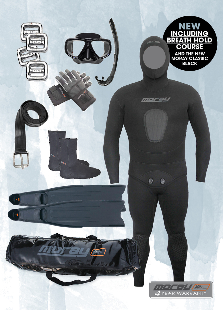 Freediver Package with Course Combo | Black image 0