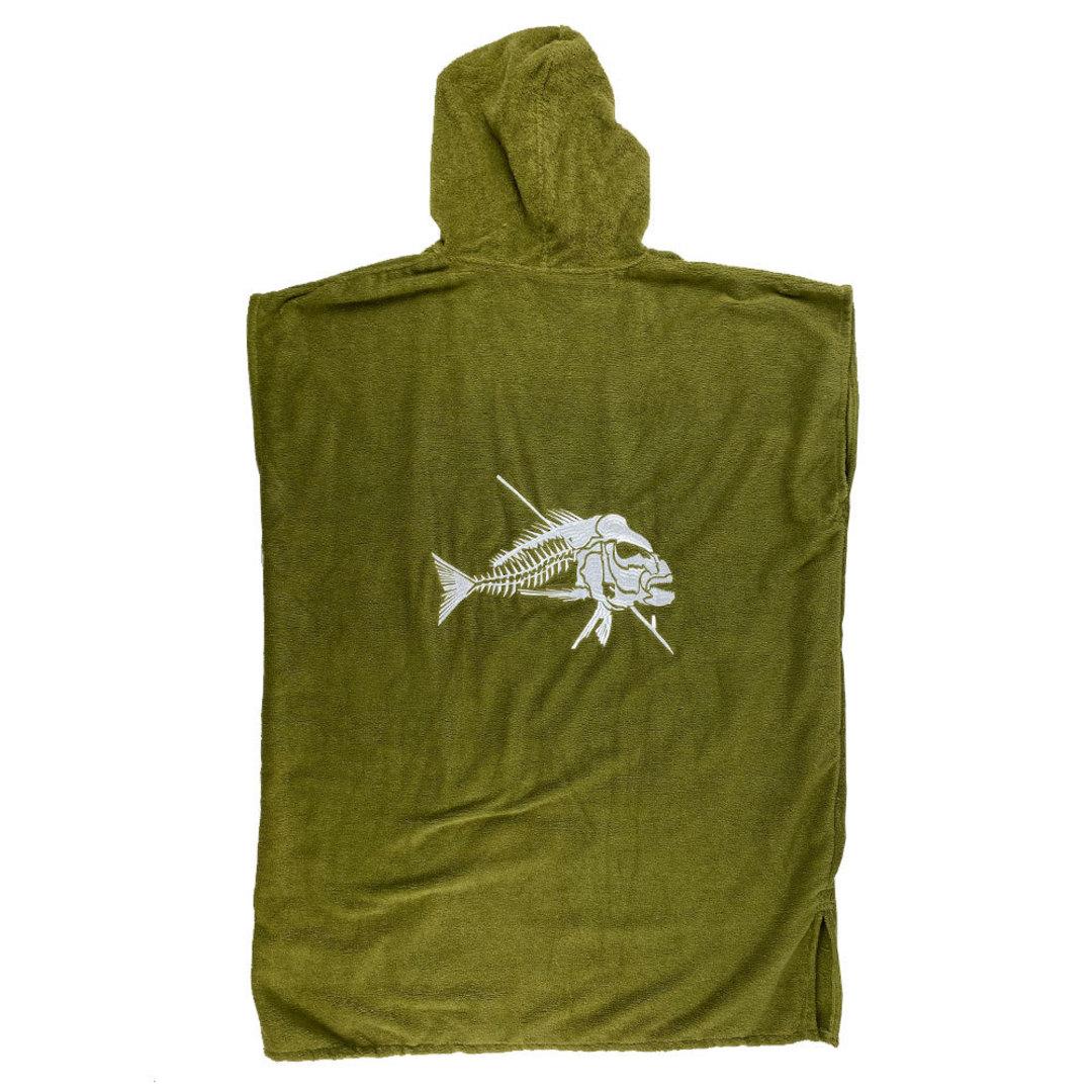 Ocean Hunter Hooded Poncho - Large image 5